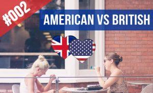 acento americano y britanico