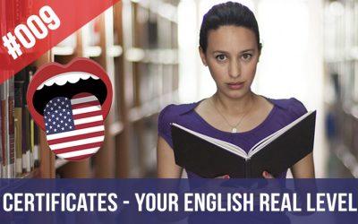 #009 Los Certificados y tu Nivel de Inglés