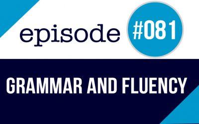 #081 Hay que estudiar gramática en inglés?