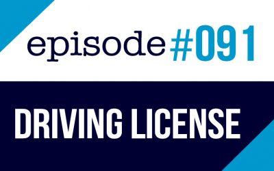 #091 Obtener la licencia de conducir en los EE.UU