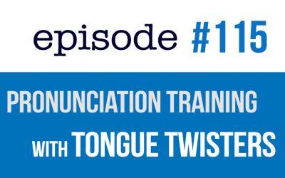 #115 Ejercicios de Pronunciación de Inglés con Trabalenguas