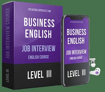 entrevista trabajo ingles