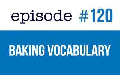 #120 Vocabulario de cocina en inglés