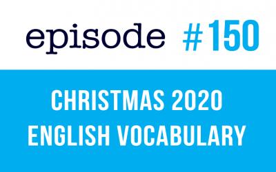 #150 Navidad 2020 Vocabulario inglés (rep)