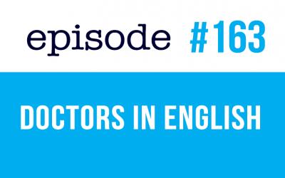 #163 Diferentes tipos de médicos en inglés