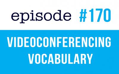 #170 Vocabulario de videoconferencia en inglés