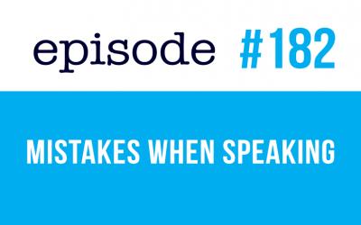 #182 Errores al hablar en inglés